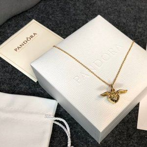 Harry Potter, Golden Snitch Chain Necklace